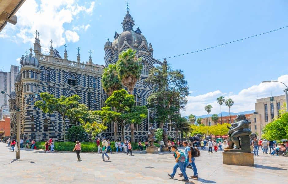 Palacio de la Cultura Rafael Uribe Uribe Medellin