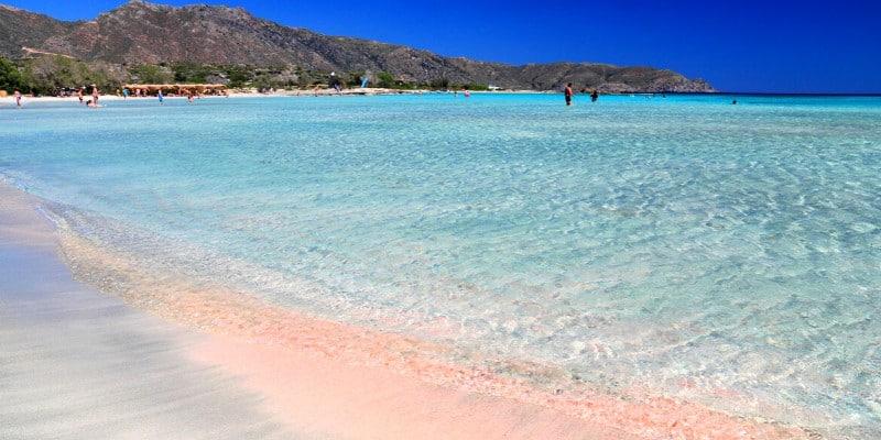 Elafonissi beach Creta