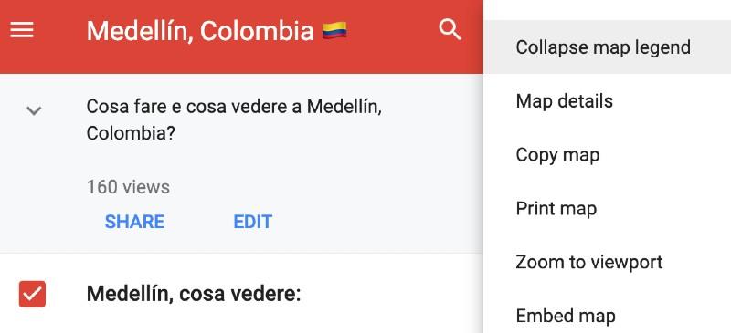 Cartina interattiva Medellin