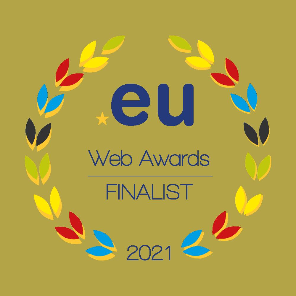 EURid finalista Web Awards 2021